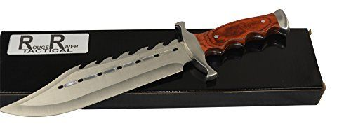 Thats not a Knife this is a Knife. This is the Ultimate Alligator Hunting Knife. This knife is wicked spiked back with blood grooves. This would make a great gift or an awesome addition to any knife ...