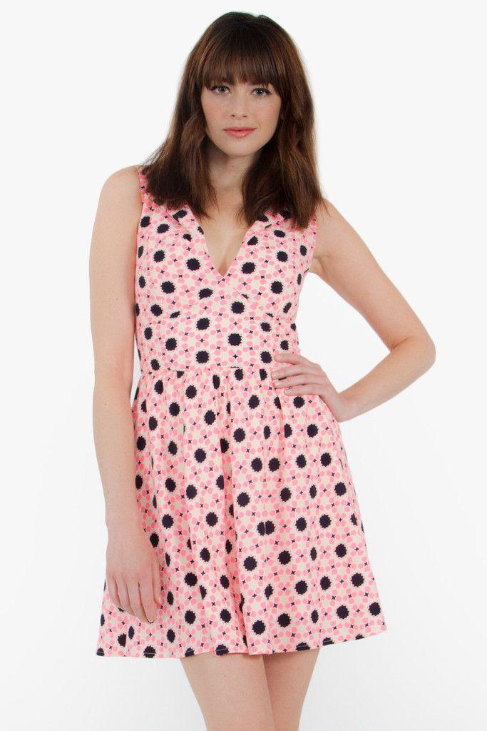 Geo Chic Dress #MyLuluCloset #Sugarlips #NewArrivals