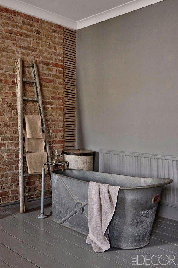 10 bañera-metal-siglo-xix-cómo-decorar-con-antigüedades-inglaterra