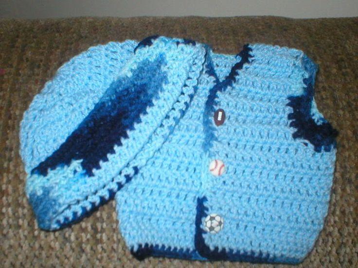 Baby Boy Crochet Vest Pattern Bulky Crochet Hat Crochet