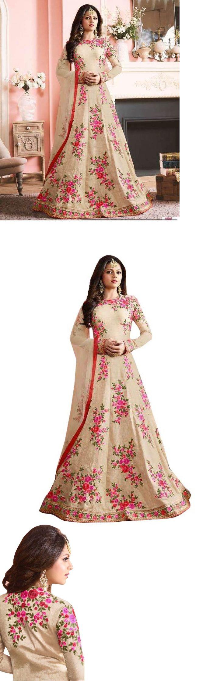 Choli 155247: Designer Party Wear Wedding Indian Pakistani Saree Sari Bollywood Ethnic Suit -> BUY IT NOW ONLY: $44.99 on eBay!