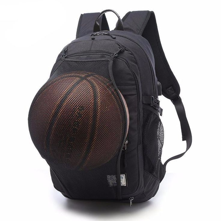 6d362baeef8f Keynew Laptop Backpack with Basketball Net USB Charging Port Water  Resistant Anti Theft 156 inch Computer Travel Shoulder Bag Black     Continue to the ...