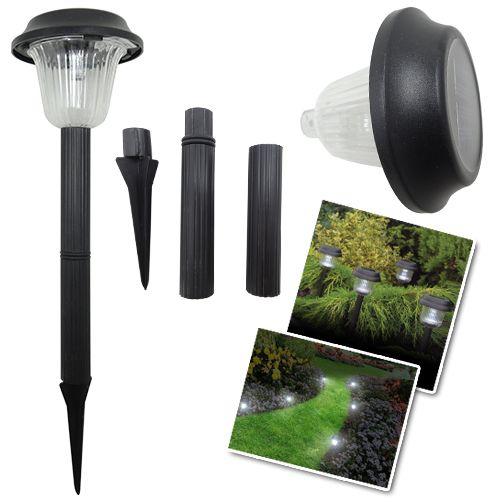 Kablosuz Solar Plastik Bahçe Lambası Garden Lamp