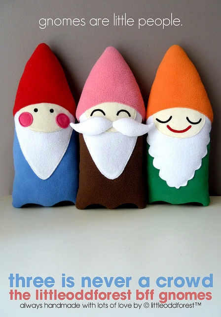 gnomes are little people :)