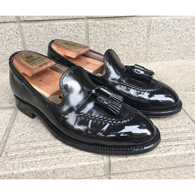 2016/09/15 21:35:32 gentle_kutsumigaki #Alden #cordovan #beautyandyouth #unitedarrows #shoeshine #shoecare #gentleman #gentlemen #tassel #loafers #classy #madeinusa #fashion #mensfashion #bootblack