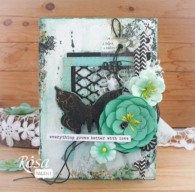 opko: Рукодільна хатинка: Butterfly, листівки ручної роботи, скрапбукінг