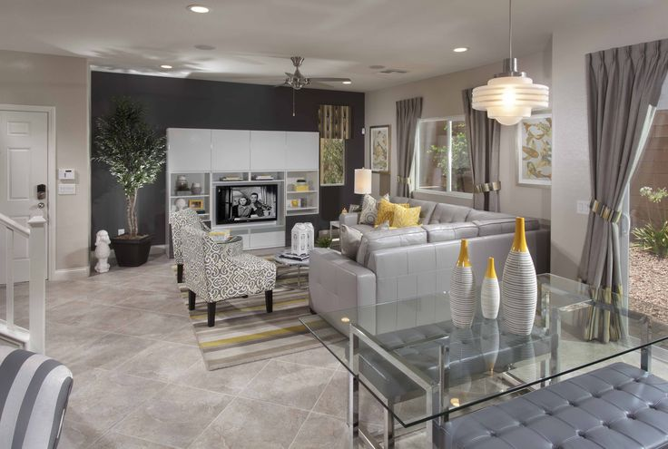 Jackson Living Room at Monticello by Ryland Homes
