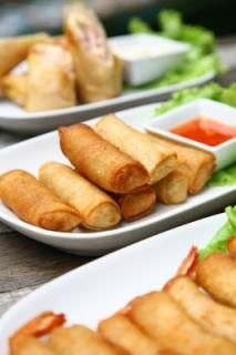 Healthy Spring Rolls Recipe  *Coach approved for ALL phases