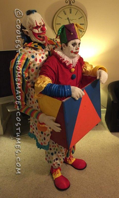 1078 Best Clown Carnevil Haunt Ideas Images On Pinterest  sc 1 st  Meningrey & Homemade Scary Clown Halloween Costumes - Meningrey