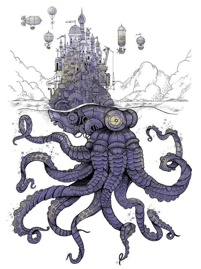 Apolonis Aphrodisia Blog — The Iron Octopus...