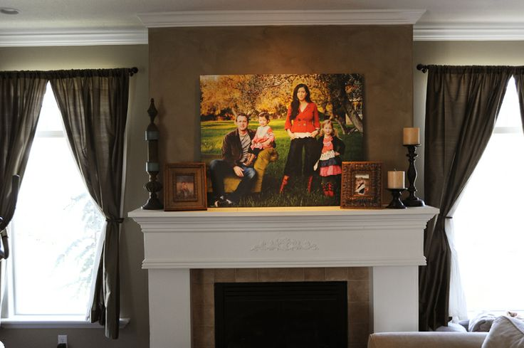 59 best images about decor on pinterest stove for Over the mantle decor
