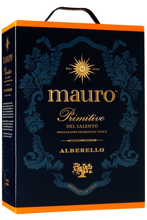 Mauro Primitivo Alberello box - fylligt rött vin | Senses Wineclub