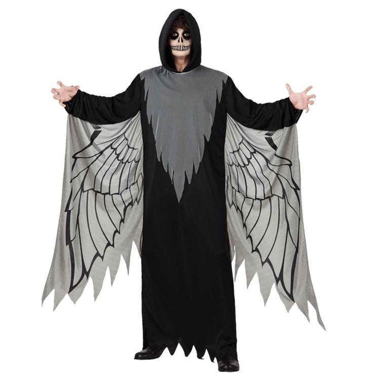 original disfraz para la noche de halloween este modelo de ngel negro ser el ms