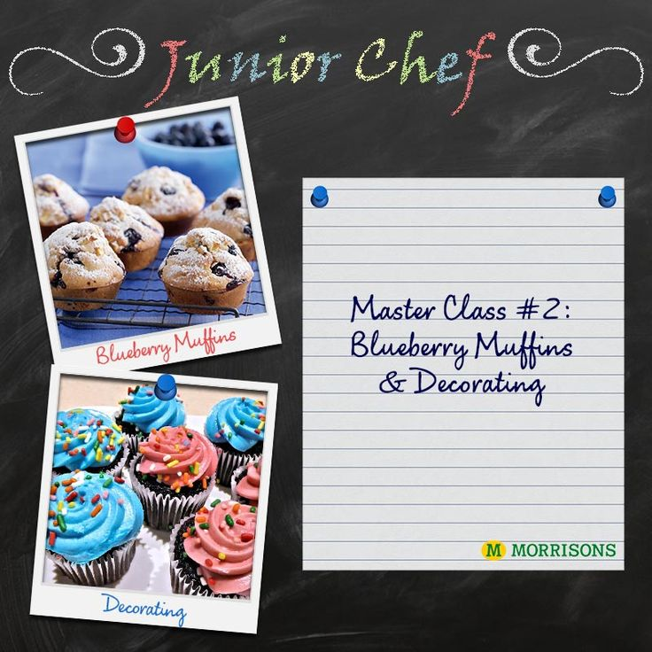 What does day two of #JuniorChef bring? Muffins and cupcakes! Get your little ones ready for some home-baked goodies and follow along our with our Master Class this #HalfTerm. Keep an eye out for tomorrow's tasty recipes! po.st/JuniorChefClass