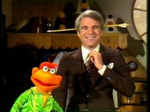 Image result for photo steve martin with arrow