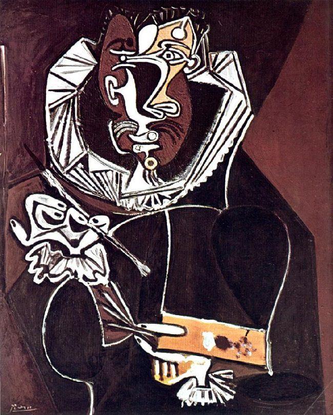 Pablo Picasso, The Portrait of a Painter after El Greco.