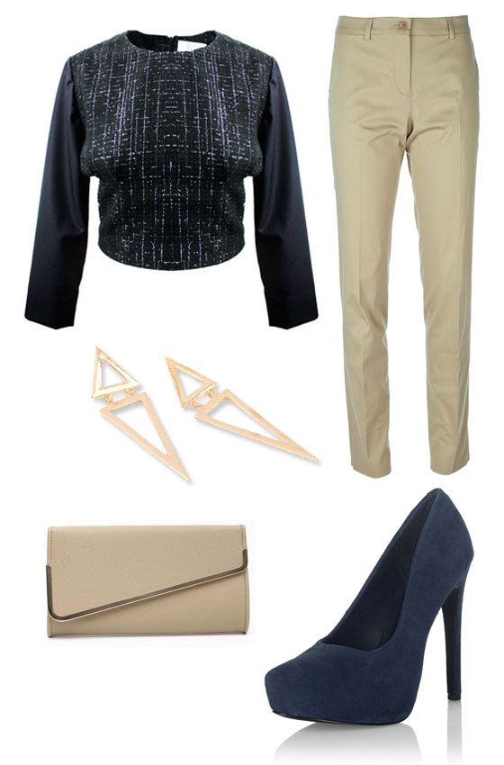 Who says pants can't be part of an amazing eye-catching outfit?