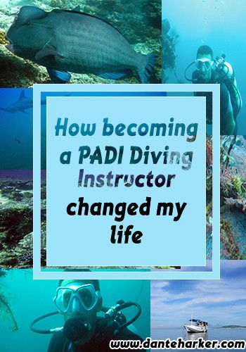 How becoming a PADI Diving Instructor changed my life