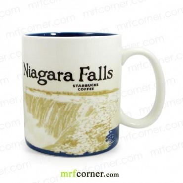 SM002 16oz Starbucks USA Niagara Falls Global Icon Series City Mug