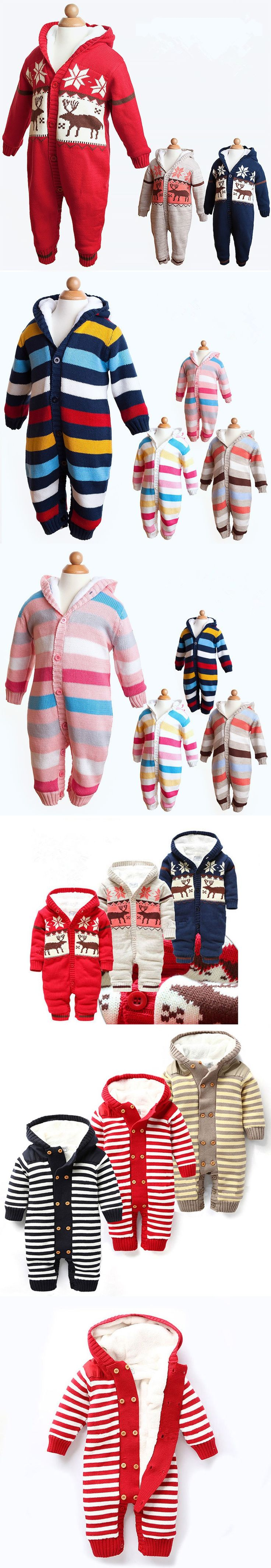 Newborn Baby One-piece Winter Romper Christmas Costumes for Boys Baby Clothes Baby Boy Romper Winter Outfits Costume Baby Romper $40