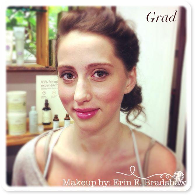 Grad Makeup By Erin Bradshaw 2013