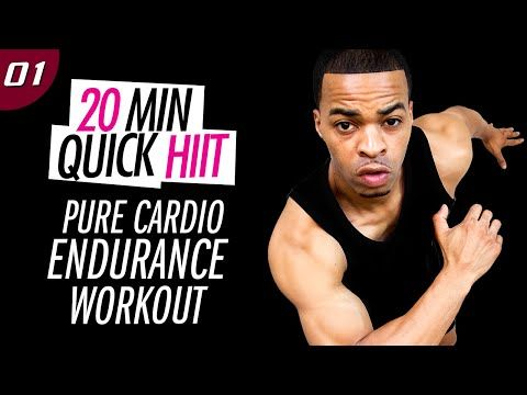 20 Min. Pure Cardio & Endurance HIIT Workout   20 Min. Quick HIIT #01 - YouTube
