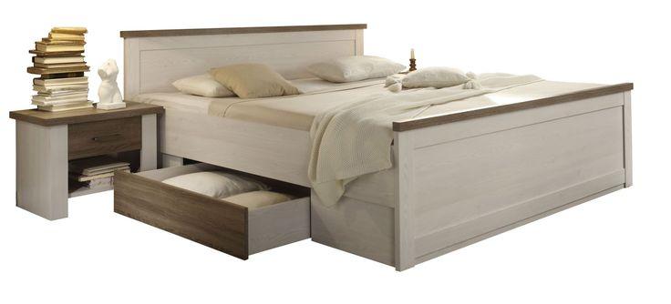Postel + noční stolky LUCA - Sconto Nábytek