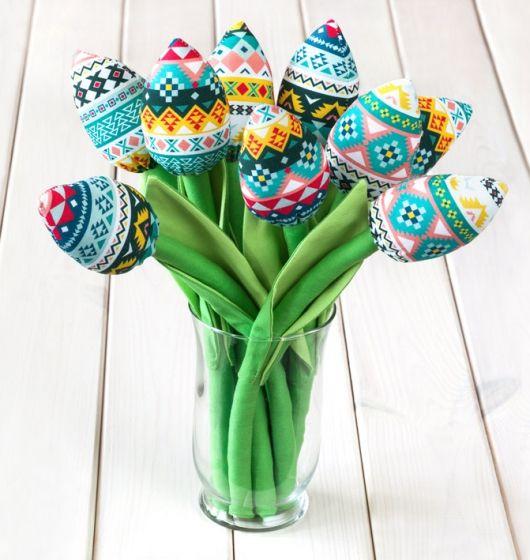 #atelio #tulipany #zygzaki #indiańskie #wzory #szyte