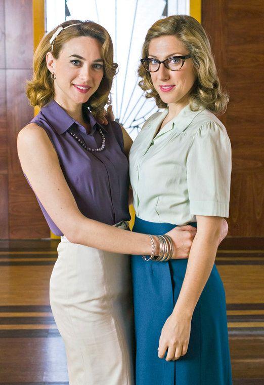 Marta Hazas y Cecilia Freire