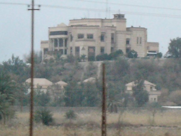 baghdad iraq victory palace iran saddam built