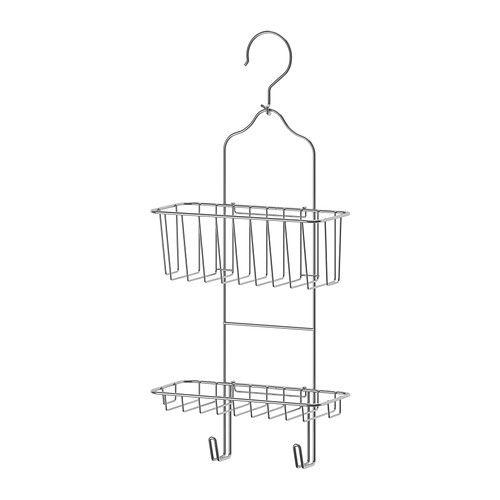 IMMELN Portaoggetti per doccia, 2 piani, zincato