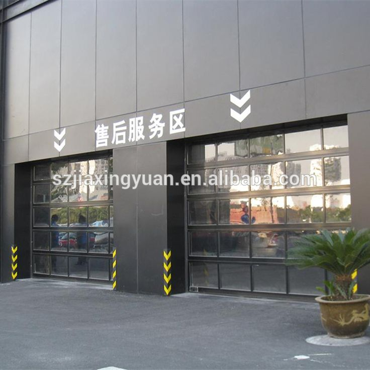 aluminum sectional insulated transparent glass garage door photo detailed aboutu2026