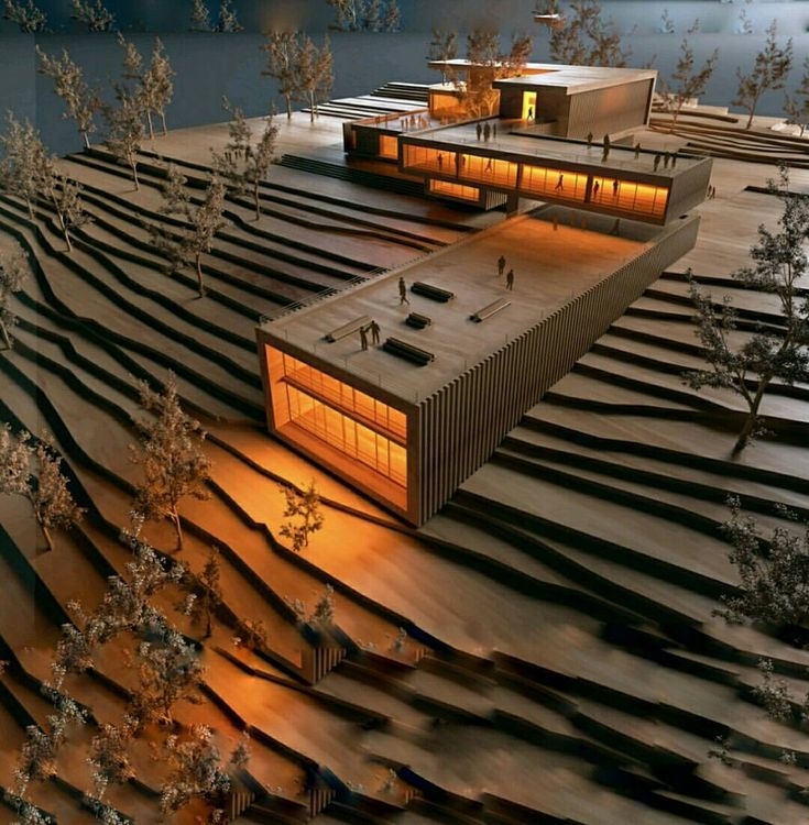 """17.2 mil Me gusta, 55 comentarios - Amazing Architecture (@amazing.architecture) en Instagram: """"Render tipo maqueta... Ejercicio expres de curso.. SketchUp ° V-Ray ° PS by H-Render #mexico…"""""""