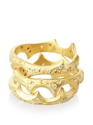 65% OFF Kevia Beetle Horn Stacking Rings