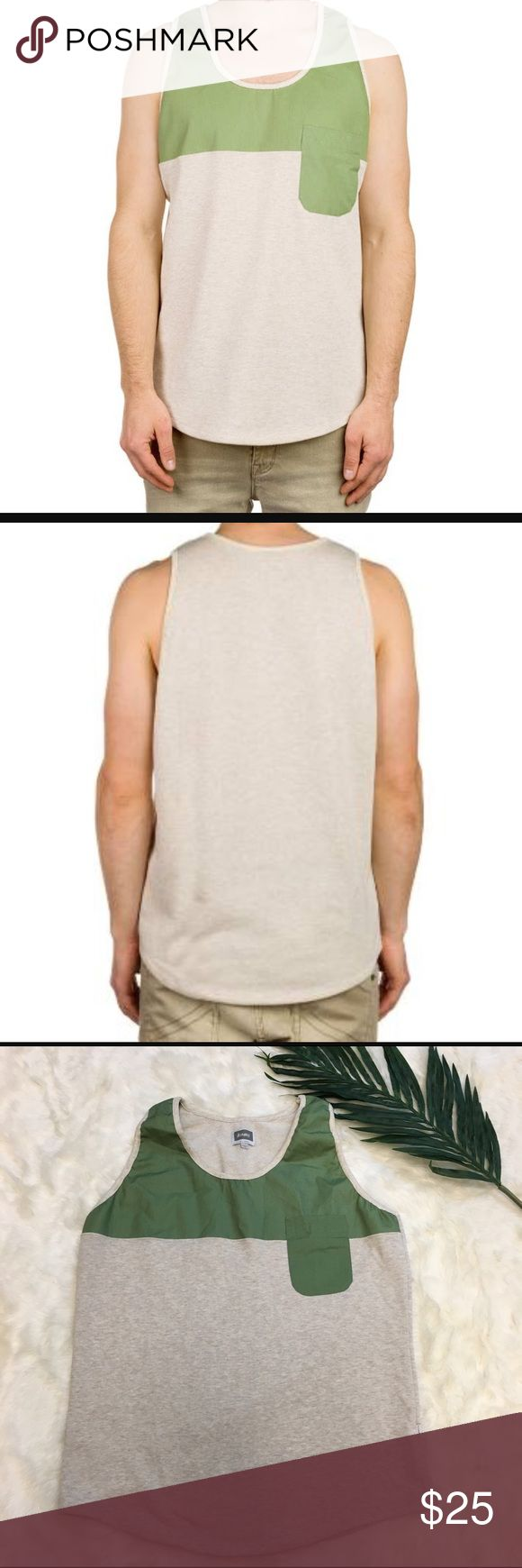 ☀️Altamont Oranda Sand Heather Tank Top EUC Altamont Oranda Sand Heather Men's Casual Tank Top. These are Sold out online. Altamont Shirts Tank Tops
