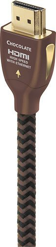 AudioQuest - Chocolate 4.9' HDMI Cable - Brown/Black