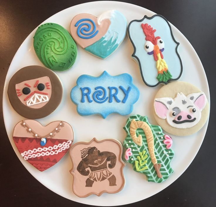 A personal favorite from my Etsy shop https://www.etsy.com/listing/520746026/moana-cookies-one-dozen