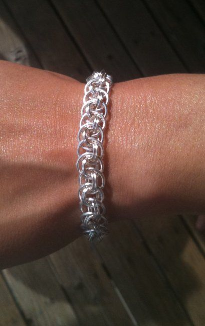 Basket Weave Chainmaille Tutorial : M a i l view topic vipers basket weave ring sizes