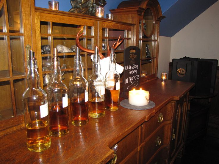 The line up of cask samples for the White Stag Tasting Panel January 2015 #arran #arranwhisky