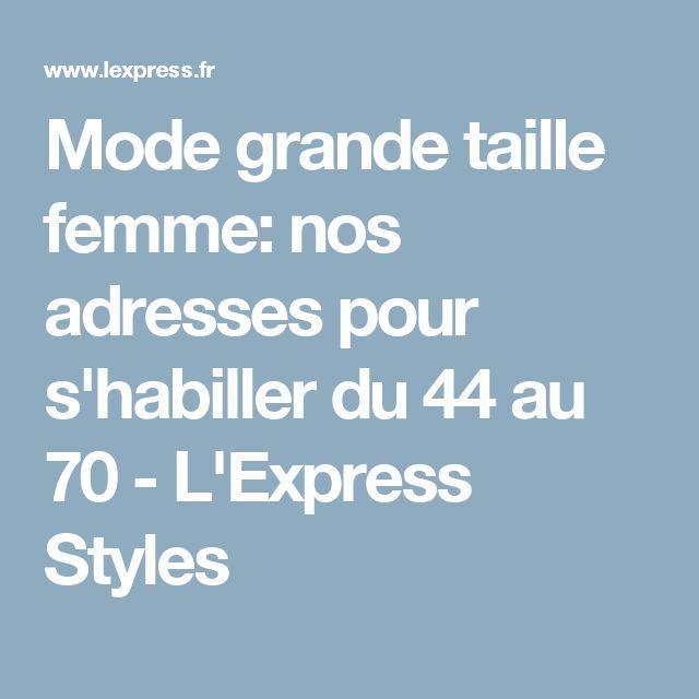 Mode grande taille femme: nos adresses pour s'habiller du 44 au 70 - L'Express Styles