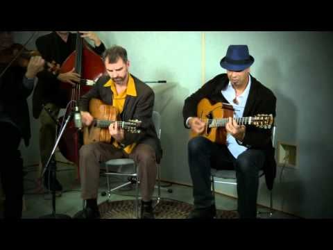 Pearl Django - Besame Mucho. Love this song and hope someday to see them live.