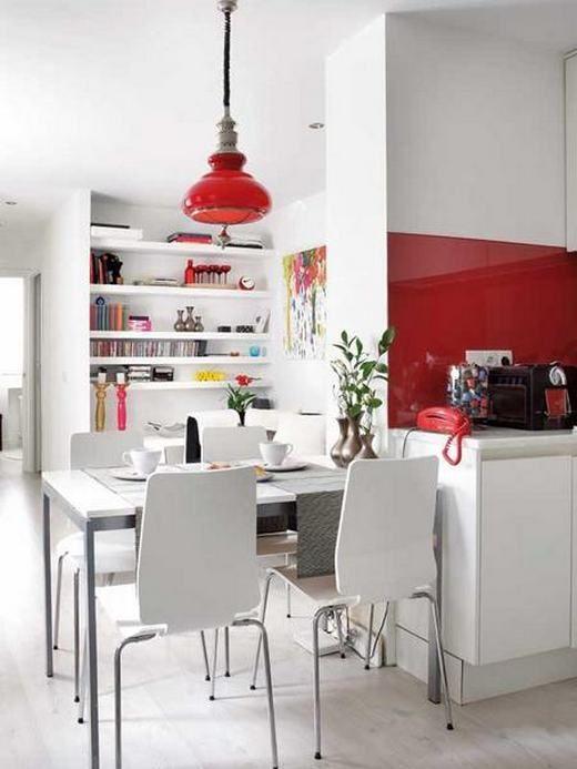 Egy kis lakásban sem kell lemondani a maximális kényelemről és funkcionalitásról, jó példa ez a stílusos enteriőr mindössze 40nm-en