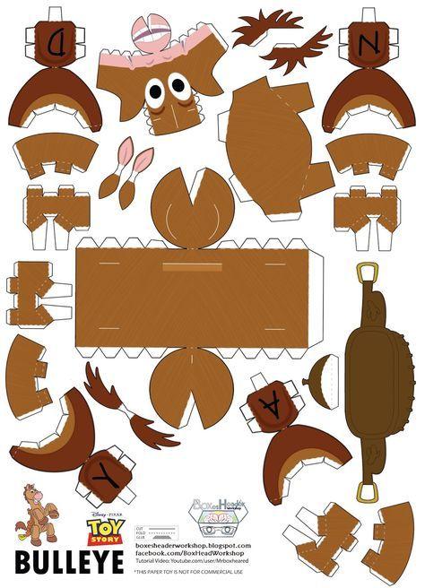 Boxes-Header Workshop  Bullseye the horse~ Cardboard Toys c08c3ca0485