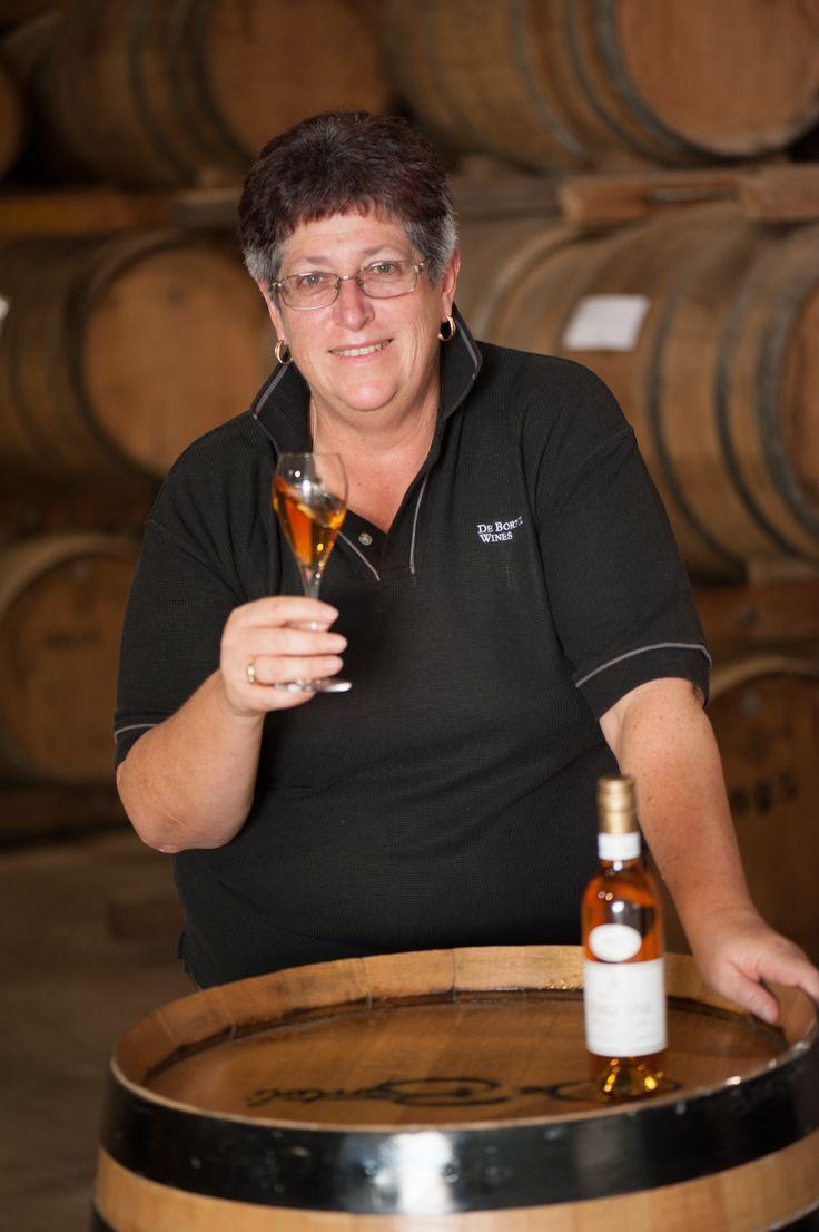 Julie Mortlock - caretaker for Noble One Botrytis Semillon. http://www.debortoli.com.au/our-wines/our-brands/noble-one.html