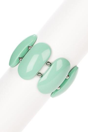 Martha's Vineyard Bracelet: Blue Green, Foam Green