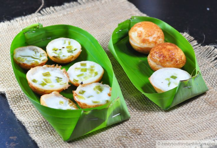 Zesty South Indian Kitchen: Khanom Krok / Thai Coconut-Rice Pancakes