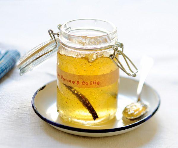 Une gelée de pommes et coing vanillée pour vous surprendre !