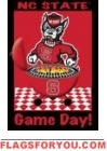 Game Day - NC State Garden Flag