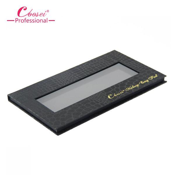 Large eyeshadow palette for 18mm diameter eyeshadows Empty eyeshadow palette case for refillable single eyeshadow pan