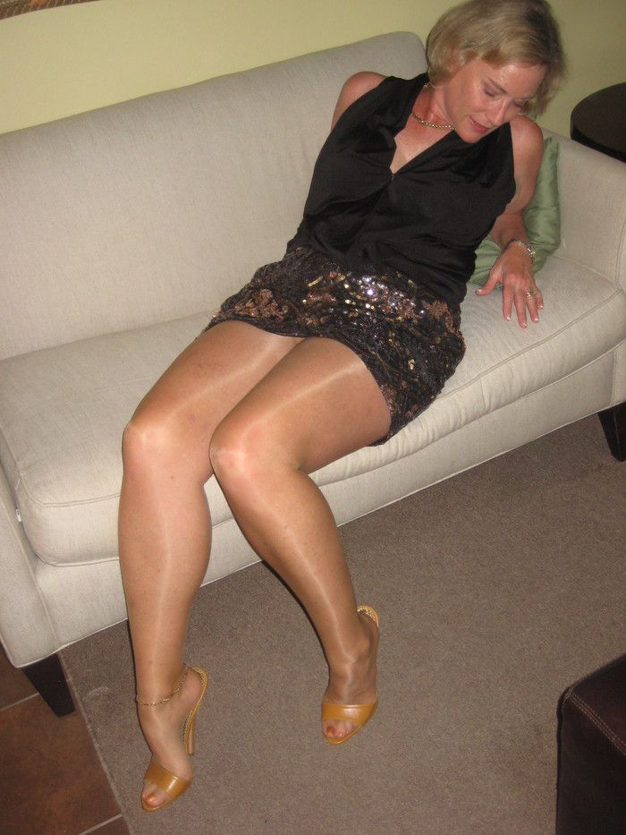 mature pantyhose amateur Sexy